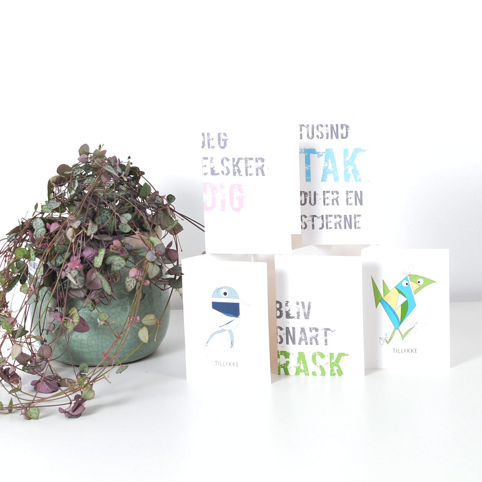 Blomsterkort - Privat