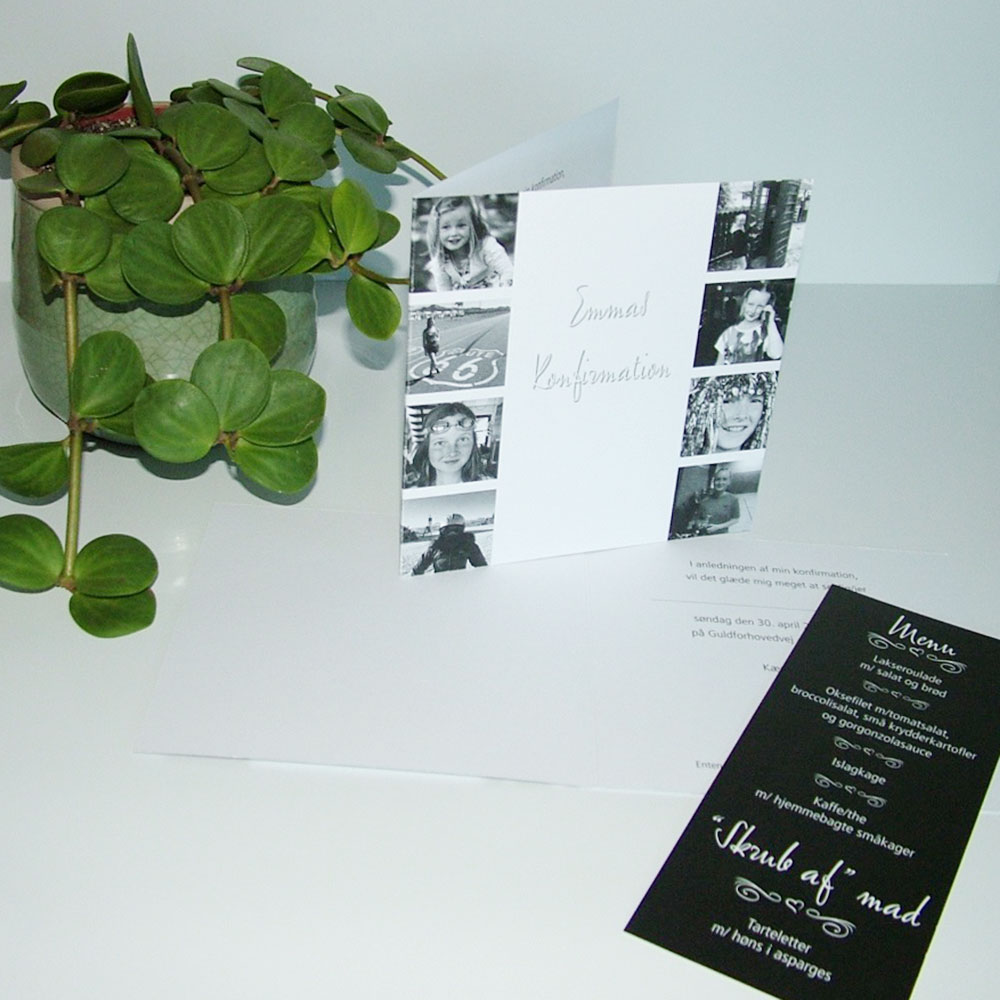 Invitation til konfirmation