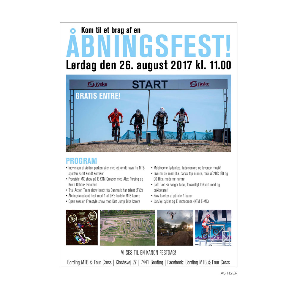 Flyer – Bording MTB & Four Cross
